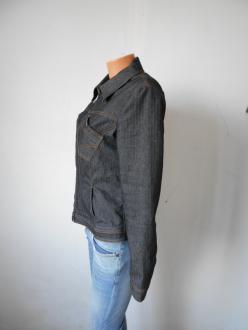 Дамско дънково пролетно яке